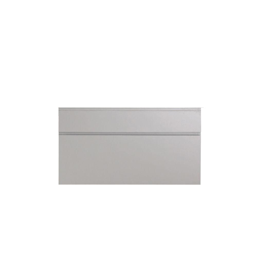 Tribeca 36-Inch  Vanity Cabinet in Chilled Grey