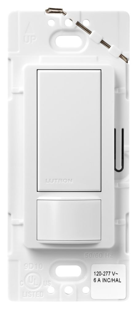 Maestro 6-Amp Multi-Location Dual Voltage Occupancy Sensor Switch, White