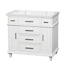 Berkeley 36-Inch  Vanity Cabinet in White