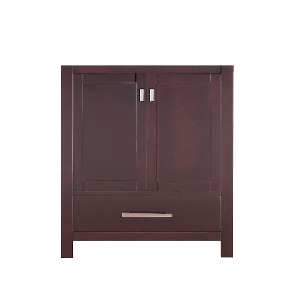 Modero 30-Inch  Vanity Cabinet in Espresso