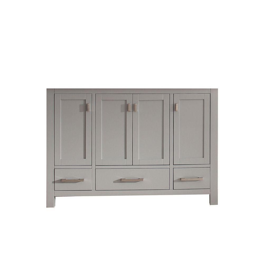 Modero 48-Inch  Vanity Cabinet in Chilled Grey