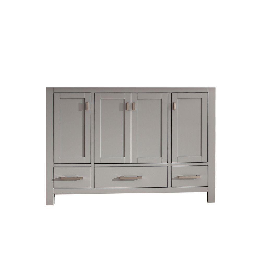 Avanity Modero 48-Inch  Vanity Cabinet in Chilled Grey