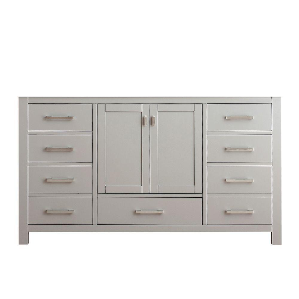 Avanity Modero 60-Inch  Vanity Cabinet in Chilled Grey