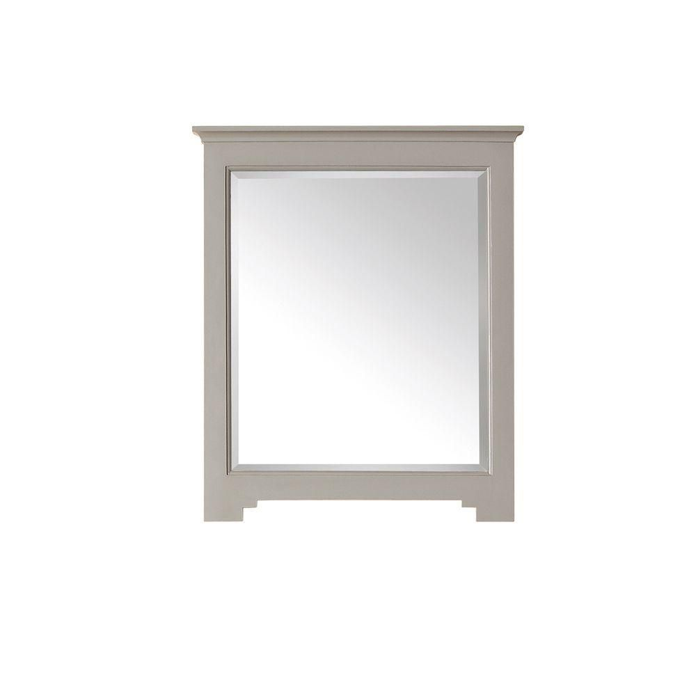 Newport 28 In. Mirror in French Gray