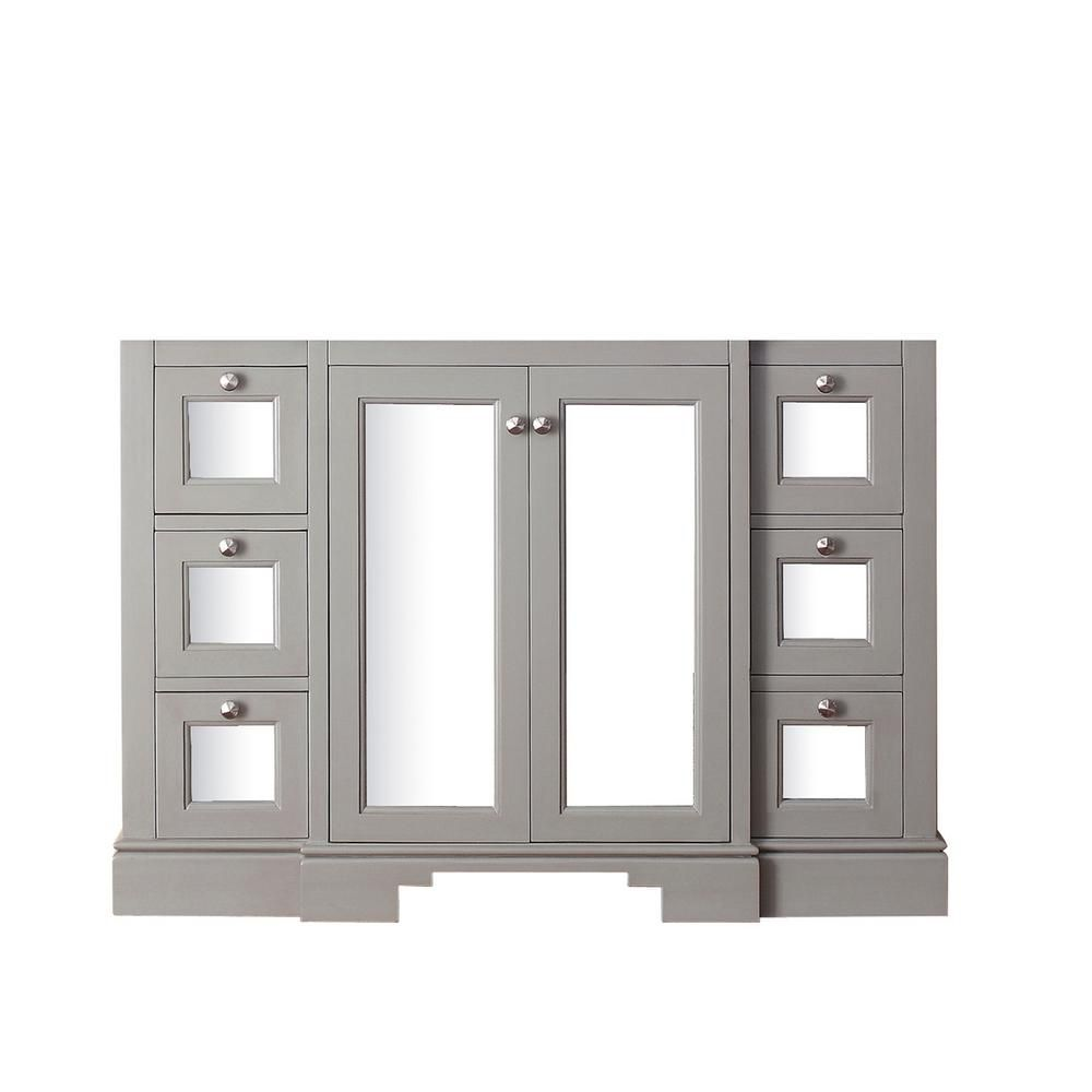 Avanity Newport 48-Inch  Vanity Cabinet in French Grey