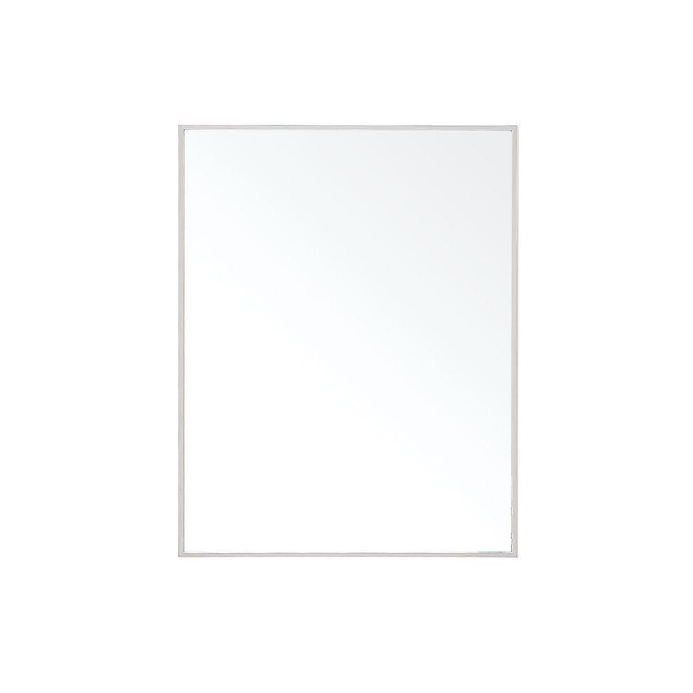 Miroir Sonoma de 24 po avec cadre en métal