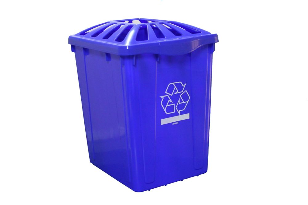 Recycling box 22 gl. With Standard  lid