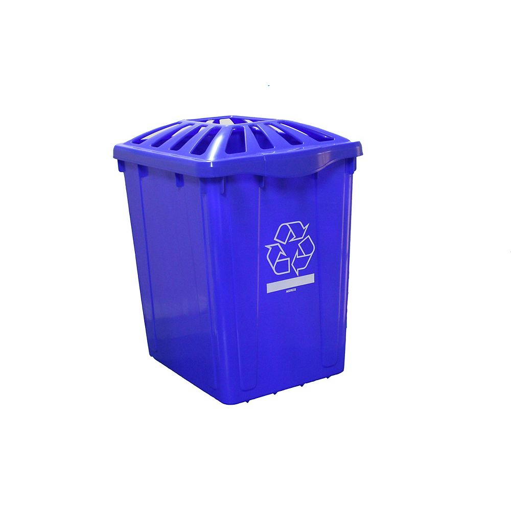 Enviro World 22 Gal. Recycling Box with Standard Lid