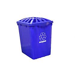 Enviro World 15 Gal. Recycling Box with Standard Lid