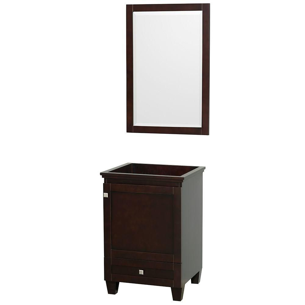 Acclaim Vanity Cabinet with Mirror in Espresso