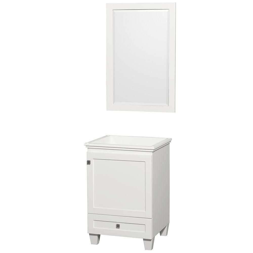 Acclaim Vanity in White Finish with Mirror