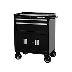 2-Drawer Tool Cabinet with Doors