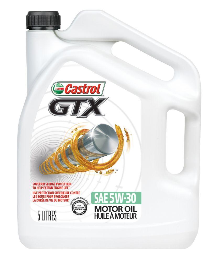 Castrol CASTROL GTX  5w30 5L CONVENTIONAL OIL