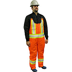 Storm Fighter Lined HIGH Viz Overall 2XLarge