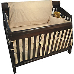 Maholi Sweet Slumber Breakfast Cushion, Crib, Natural Leaf