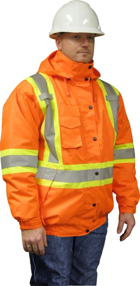 Storm Fighter Insulated Bomber Jacket Large