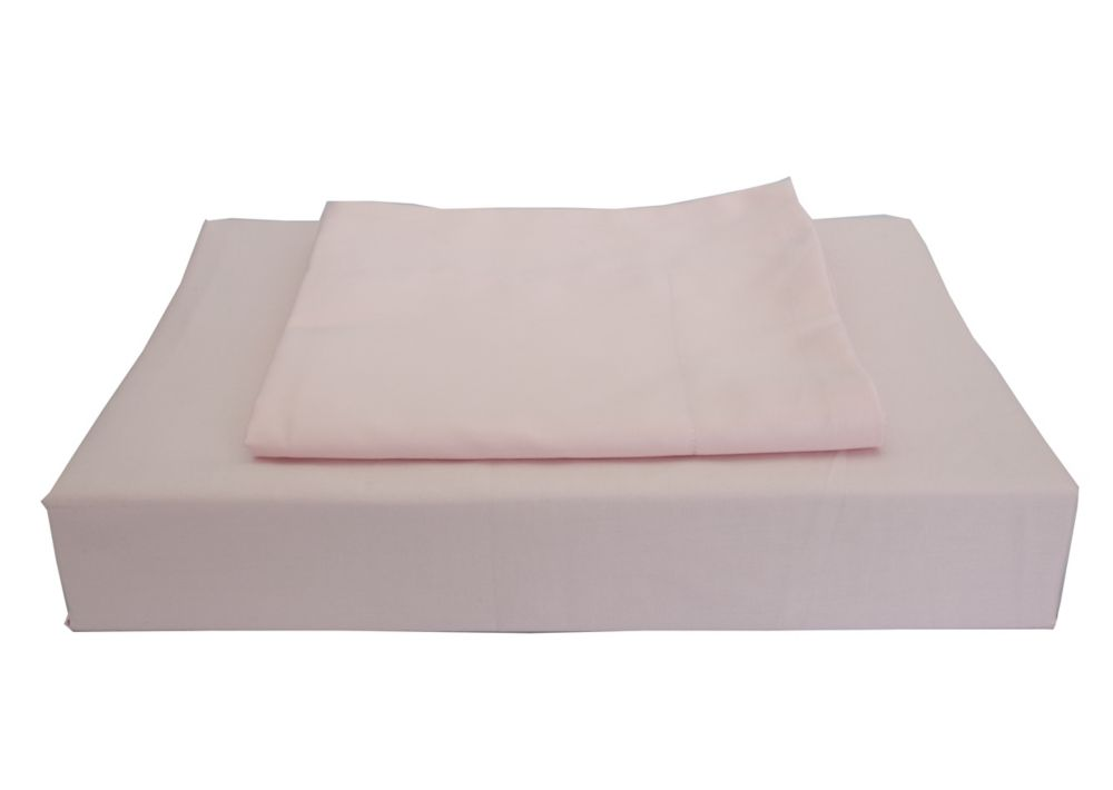 230TC Maxwell Duvet Cover Set, Pink, Double
