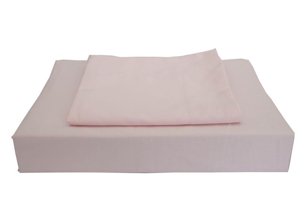 230TC Maxwell Duvet Cover Set, Pink, Queen