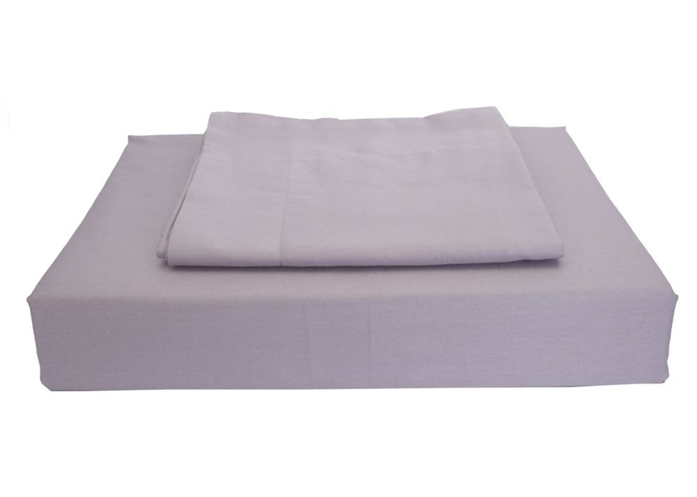 230TC Maxwell Duvet Cover Set, Purple, Double
