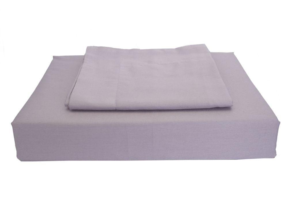 230TC Maxwell Duvet Cover Set, Purple, Queen