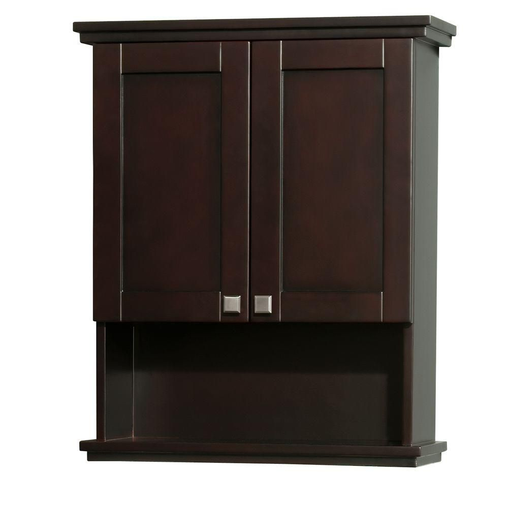 Acclaim 30 In. W Wall Cabinet in Espresso