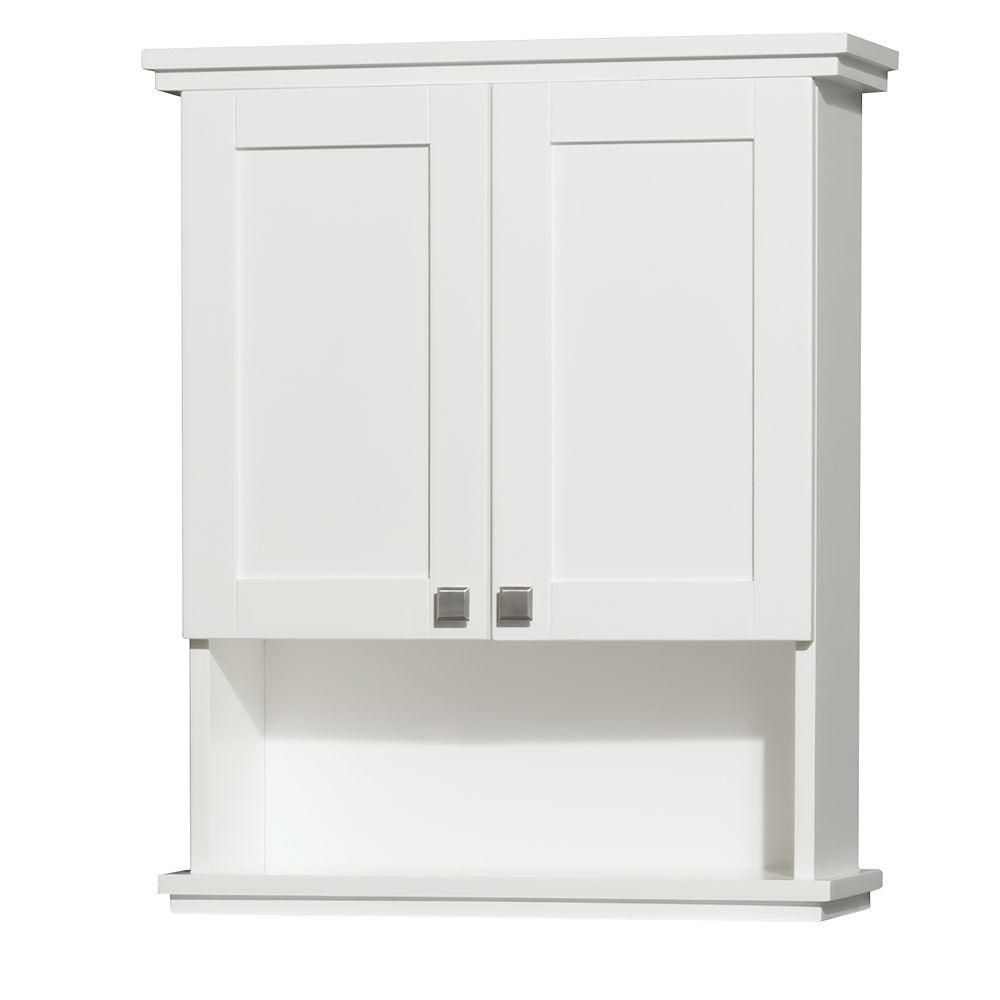 Acclaim 30 In. W Wall Cabinet in White WCV8000WCWH Canada Discount
