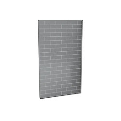 Utile 48-Inch  Back Wall in Metro Ash Grey