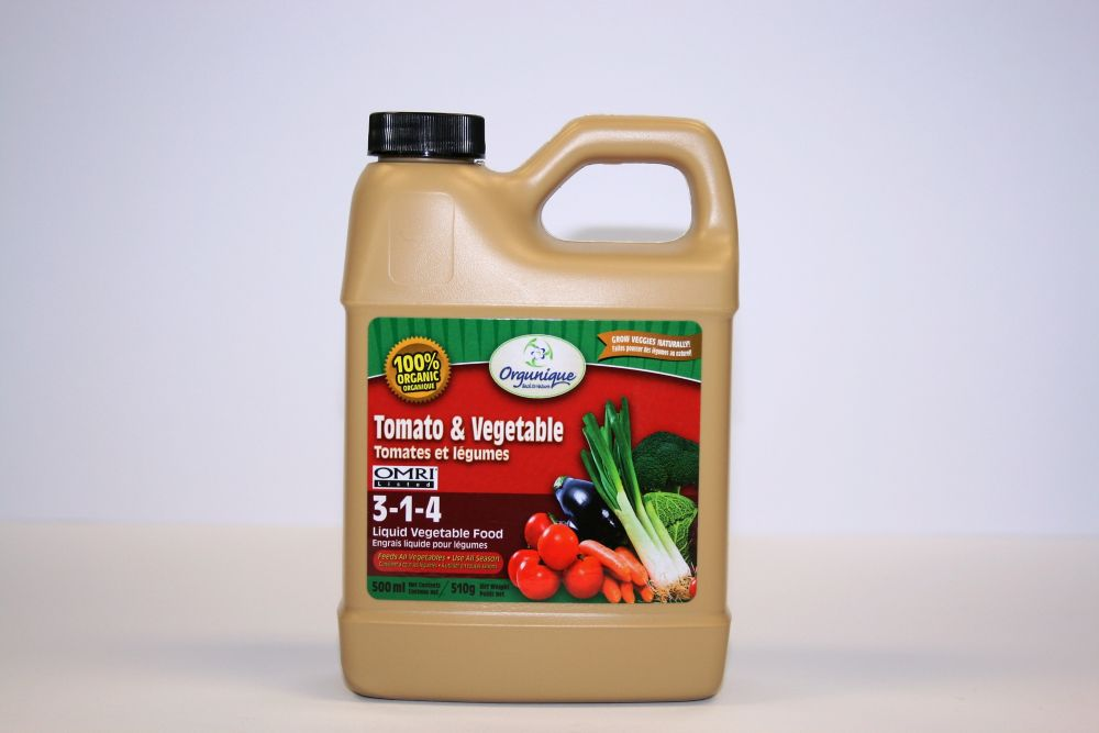 Tomato & Vegetable Liquid Fertilizer 3-1-4