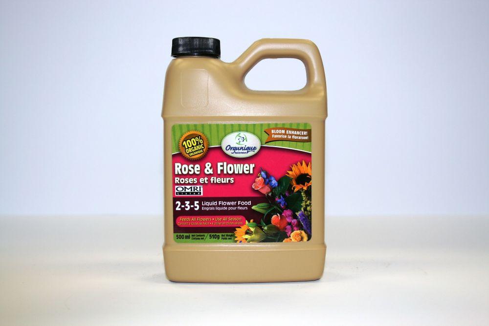 Rose and Flower Liquid Fertilizer 2-3-5