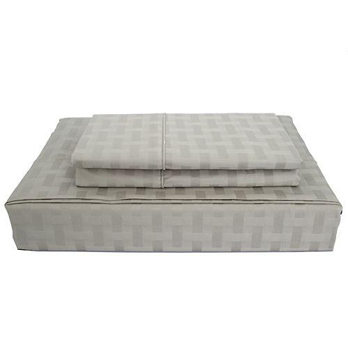 Maholi 400TC Bamboo Sheet Set, Grey, Double