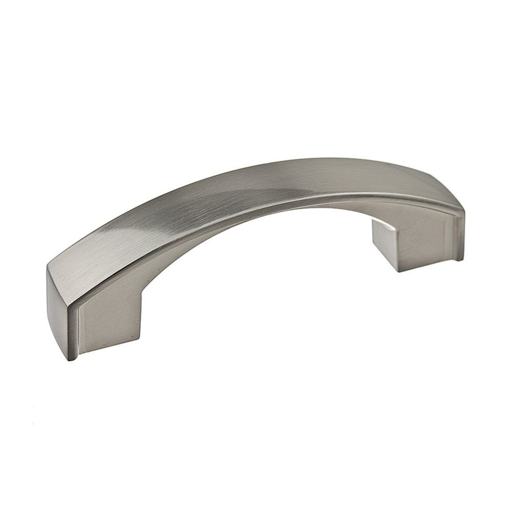 Transitional Metal Pull - Brushed Nickel - 76 Mm C. To C.