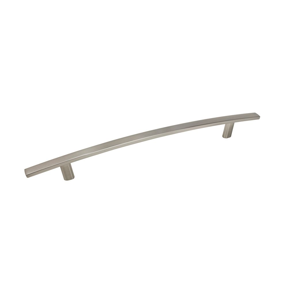 Contemporary Metal Pull - Brushed Nickel - 192 Mm C. To C.