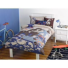 Skater Duvet Cover Set, Full/Queen