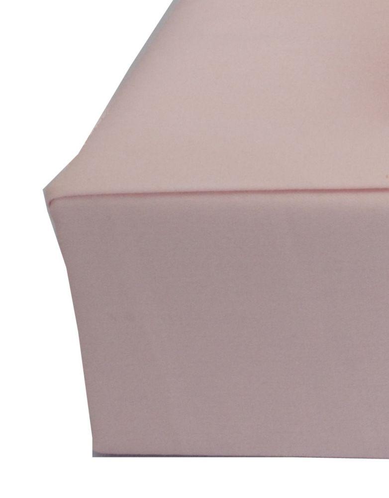 Sweet Slumber Fitted Sheet, Crib, Pink