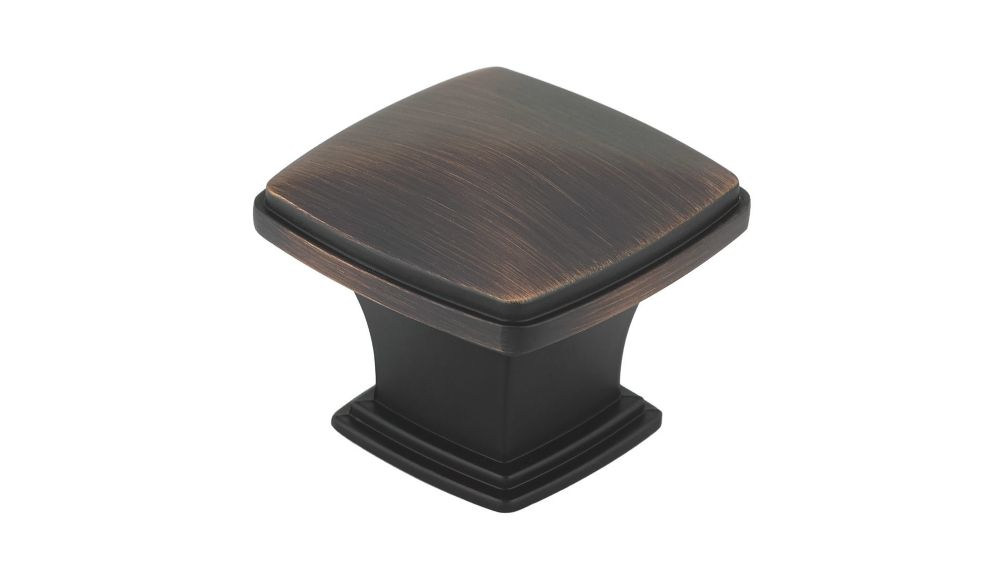 Classic Metal Knob - Brushed Oil-Rubbed Bronze - 43 Mm Dia.