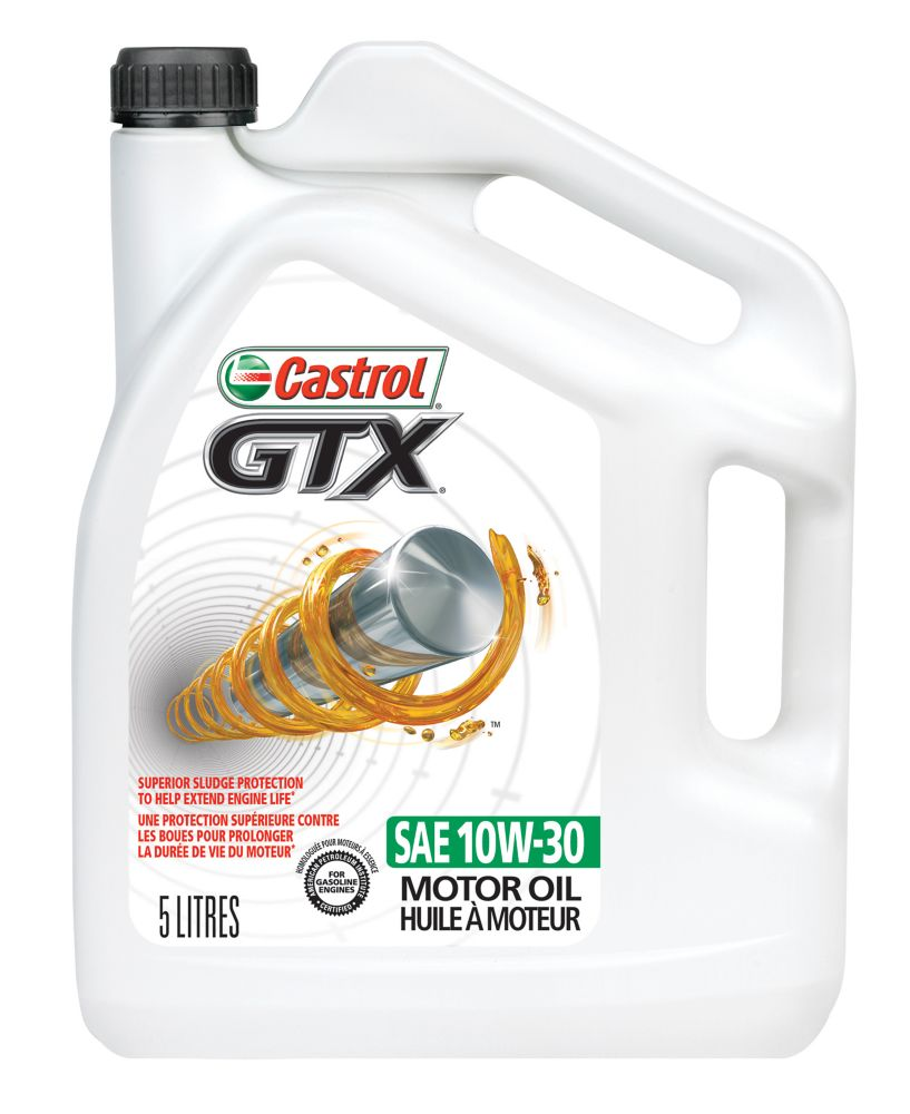 CASTROL GTX  10w30 5L CONVENTIONAL OIL