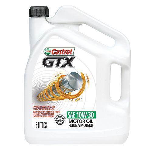Castrol Huile moteur ordinaire Castrol GTX, 5 L