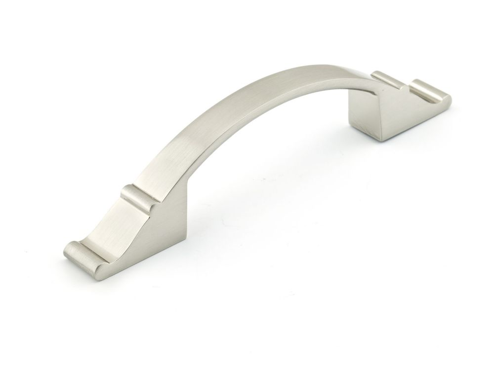 Classic Metal Pull - Brushed Nickel - 96 Mm C. To C.