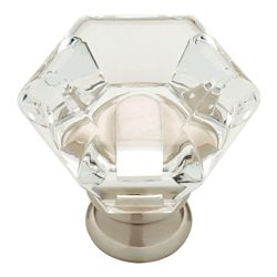 Liberty 1-3/4 Faceted Acrylic Knob