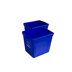 Enviro World 15 Gal. Recycling Box (2-Pack)