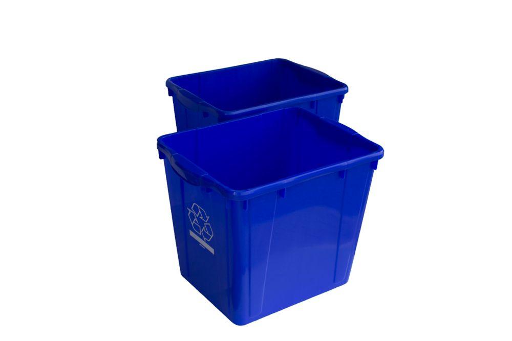 Enviro World 15 Gal. Recycling Box (2-Pack)