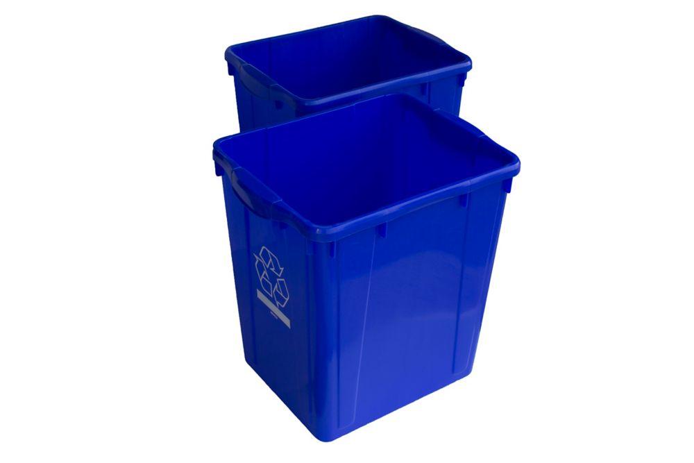 Recycling Box 22 gl. (2 PACK)