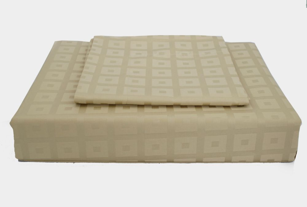 400TC Bliss Duvet Cover Set, Taupe, Twin