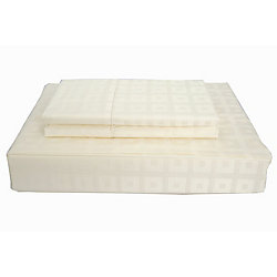 Maholi 400TC Bliss Sheet Set, Ivory, King