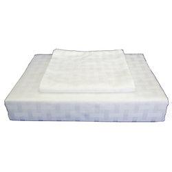 Maholi 400TC Bamboo Duvet Cover Set, White, King