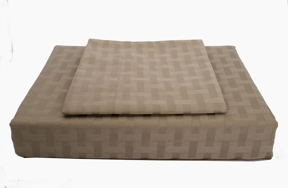 Maholi 400TC Bamboo Duvet Cover Set, Mink, King