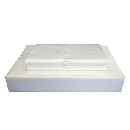 Maholi 230TC Maxwell Sheet Set, White, Twin
