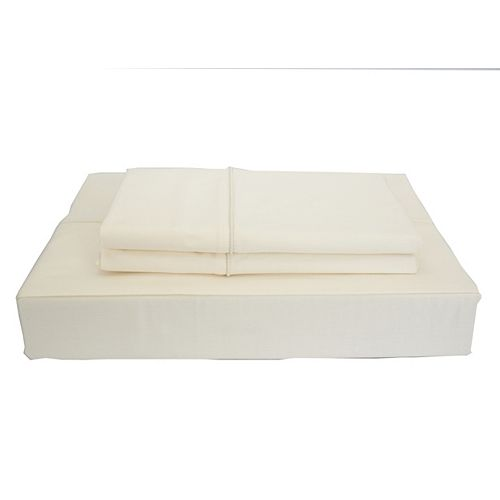 Maholi 230TC Maxwell Sheet Set, Ivory, King