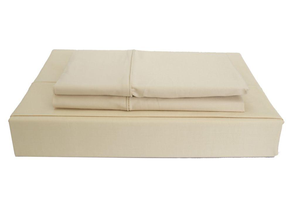 Maholi 230TC Maxwell Sheet Set, Linen, Double