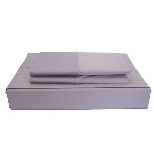 Maholi 230TC Maxwell Sheet Set, Purple, Twin